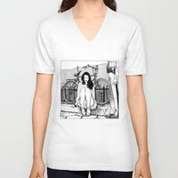 apollonia V-neck T-shirts featuring asc 592 - L'amende honorable (A satisfactory apology) by From Apollonia with Love