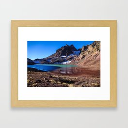 No Name Lake Framed Art Print