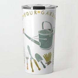 How Does Your Garden Grow? Travel Mug