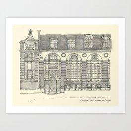 Gerlinger Hall Art Print