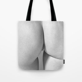 Imperfect Symmetry in a woman body Tote Bag