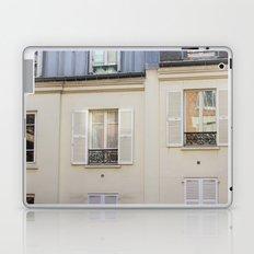 Parisian window Laptop & iPad Skin