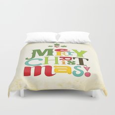 Merry Christmas! Duvet Cover