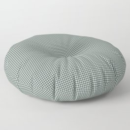 Night Watch PPG1145-7 and Alpaca Wool Cream Polka Dots on Scarborough Green PPG1145-5 Floor Pillow