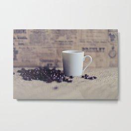 Morning Boost Metal Print