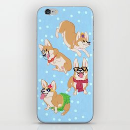 For the Love of Corgis iPhone Skin