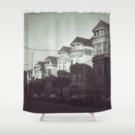 San Francisco Streets Shower Curtain