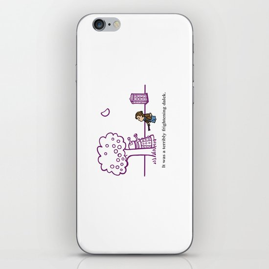 Dr Harold and the Purple Screwdriver iPhone & iPod Skin