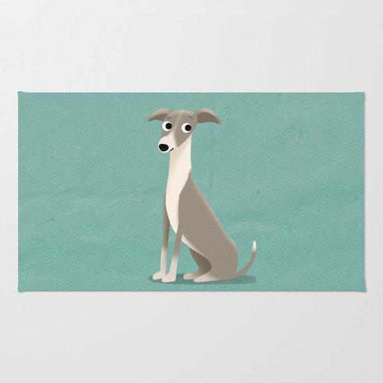 Greyhound - Cute Dog Series Rug