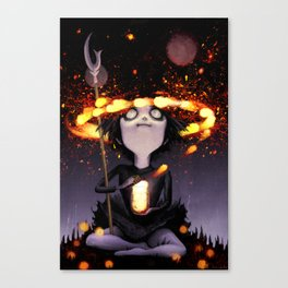 Soldier of Death and Rebirth Canvas Print