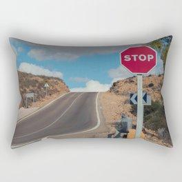 Stop Sign Rectangular Pillow