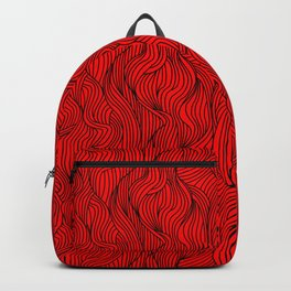 red head (bounding) Backpack