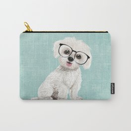 Mr Maltese Carry-All Pouch