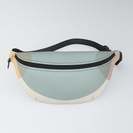 Circle Gradient - Melons Fanny Pack