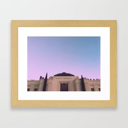 Griffith Park Observatory Framed Art Print