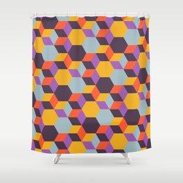 Colmena 32 Shower Curtain