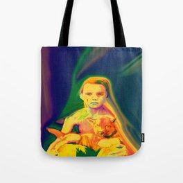 Wolf Boy Tote Bag