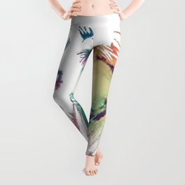 Lion of the Galaxy Leggings