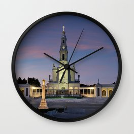 The Basilica of Fatima, Portugal Wall Clock