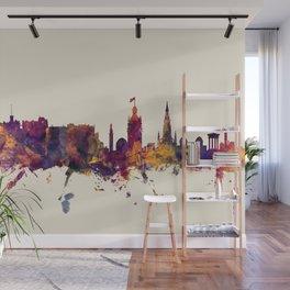 Edinburgh Scotland Skyline Wall Mural