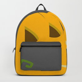 Halloween Smoking Jack o Lantern Backpack