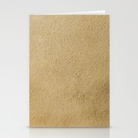 sand Stationery Cards featuring Sand by Patterns and Textures