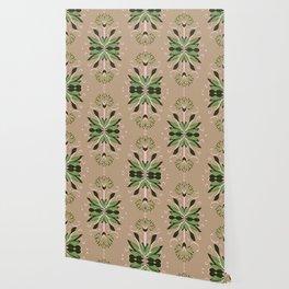 Wild plant pattern 1d Wallpaper