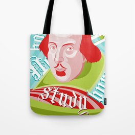 Shakespeare Says Study Tote Bag