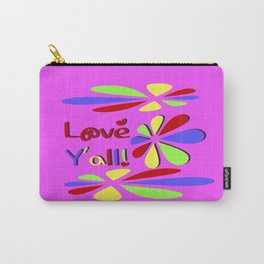 Love Y'all! Carry-All Pouch