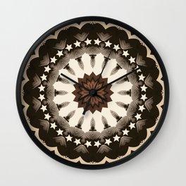 Ouija Wheel of Stars - Beyond the Veil Wall Clock