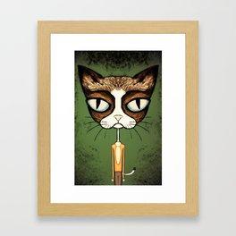 Grumpy Kato Framed Art Print