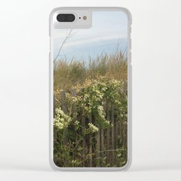 Over the dunes Clear iPhone Case