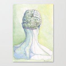 Il Cervello Verde Canvas Print