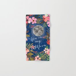 You are my moon Hand & Bath Towel