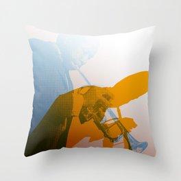 The Sidewinder Throw Pillow