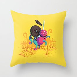Kaiser Licorice III Throw Pillow