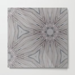 Grey Matter Metal Print
