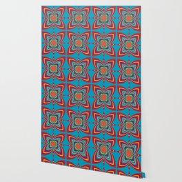 Simmetric colors Wallpaper