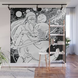 The Man Of The Moons Wall Mural