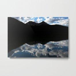 Fern Lake Reflection Metal Print