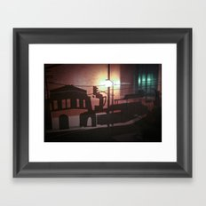time to come in Framed Art Print