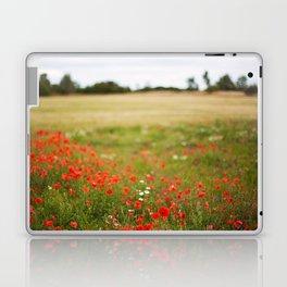 Poppy field. Laptop & iPad Skin