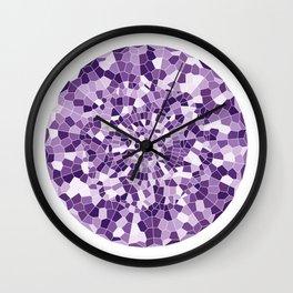 Violet Portal Wall Clock