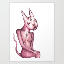 Bast Art Print