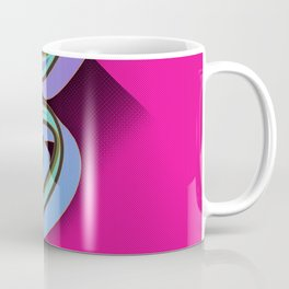 5 on pink Coffee Mug