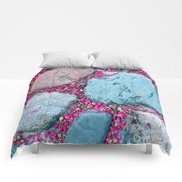 Crepe Over Cobble Comforters