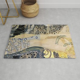Gustav Klimt - The Hydra - Digital Remastered Edition Rug