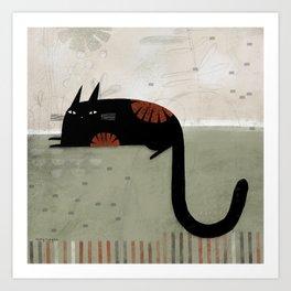 HOOK TAIL Art Print