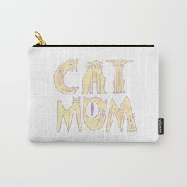 Cat Mom Carry-All Pouch