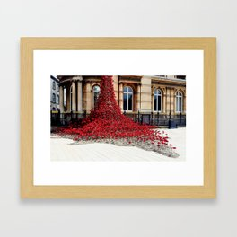 Poppies - City of Culture 2017, Hull Framed Art Print